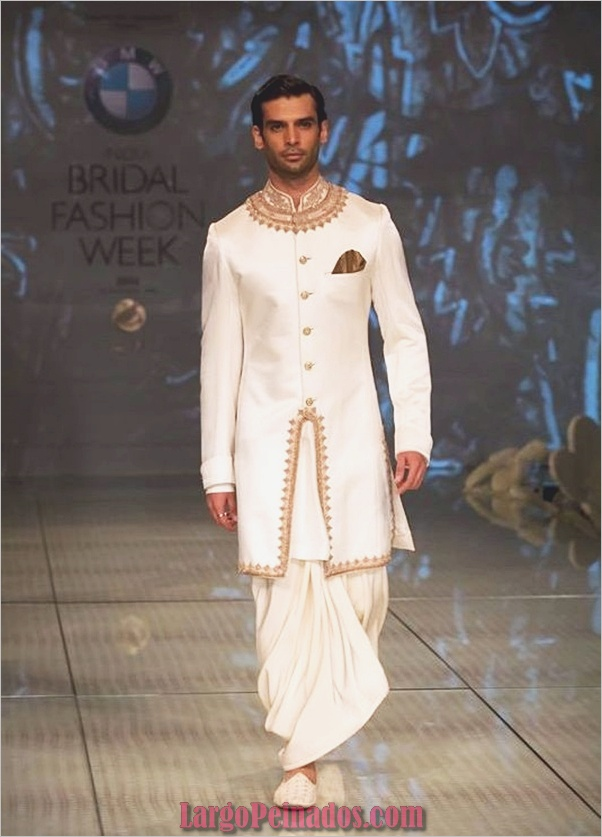 Vestidos y trajes indios elegantes17
