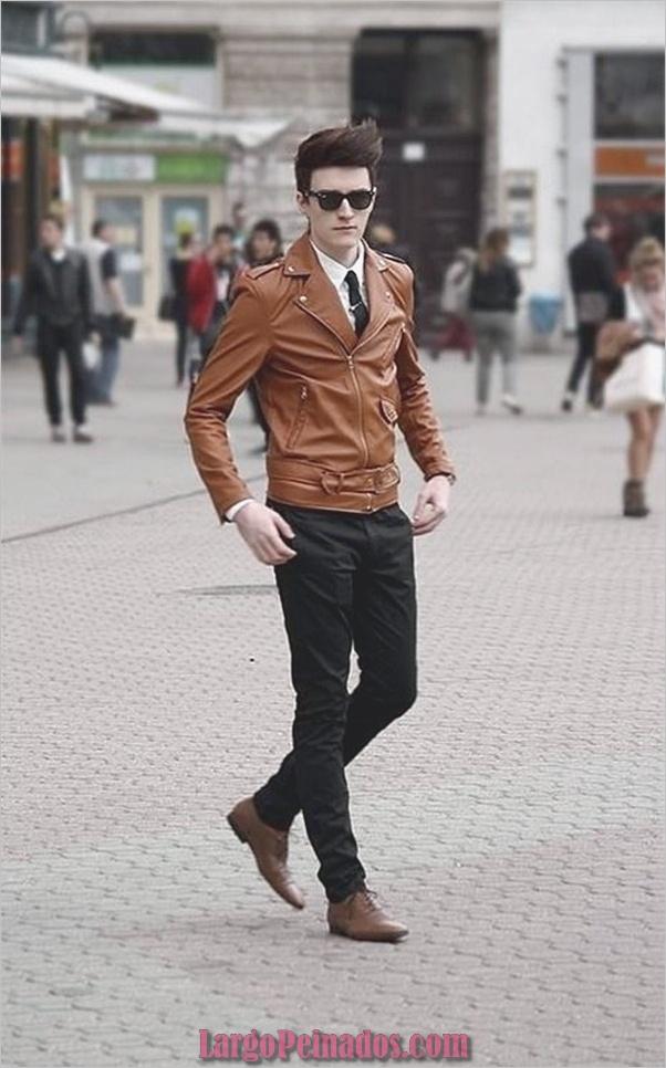 Trajes de estilo de moda para hombre8