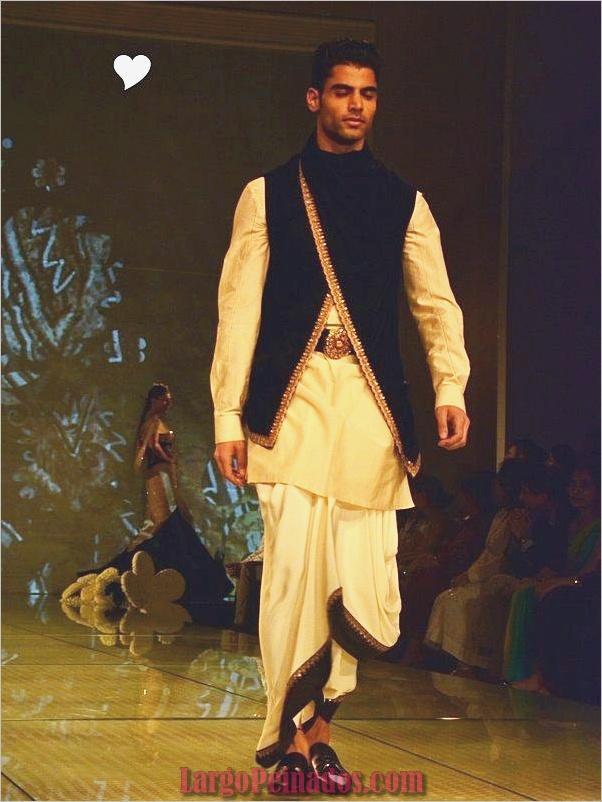 Vestidos y trajes indios elegantes19