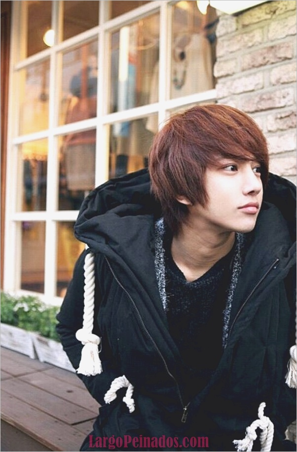 Los hombres coreanos peinados (24)