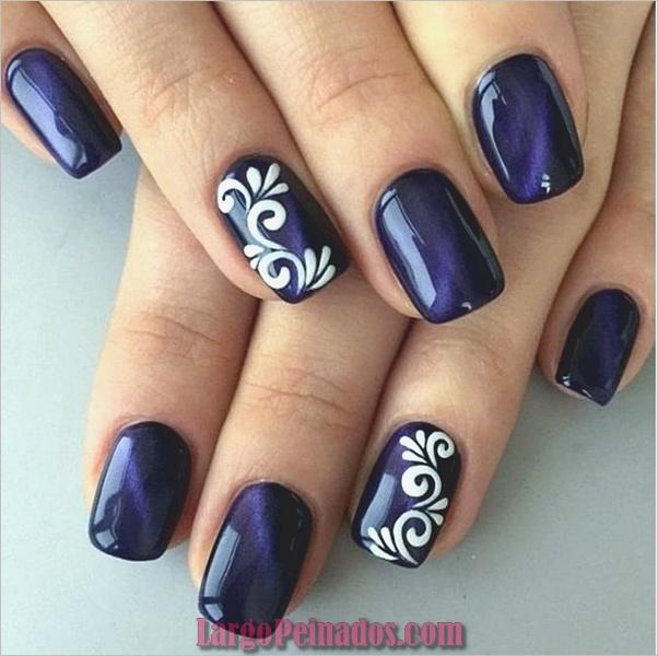 Ideas y diseños fáciles de esmalte de uñas (25)