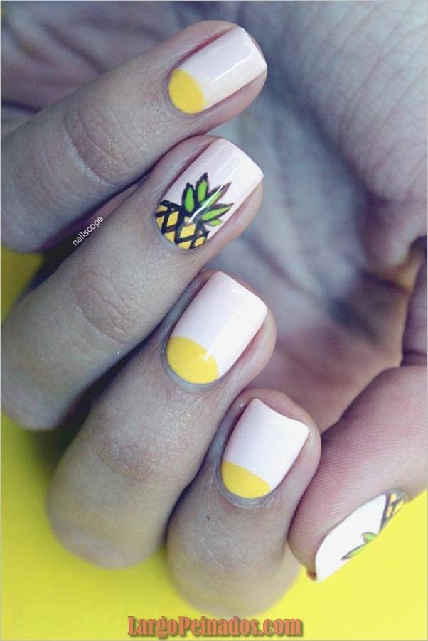 Ideas y diseños fáciles de esmalte de uñas (27)