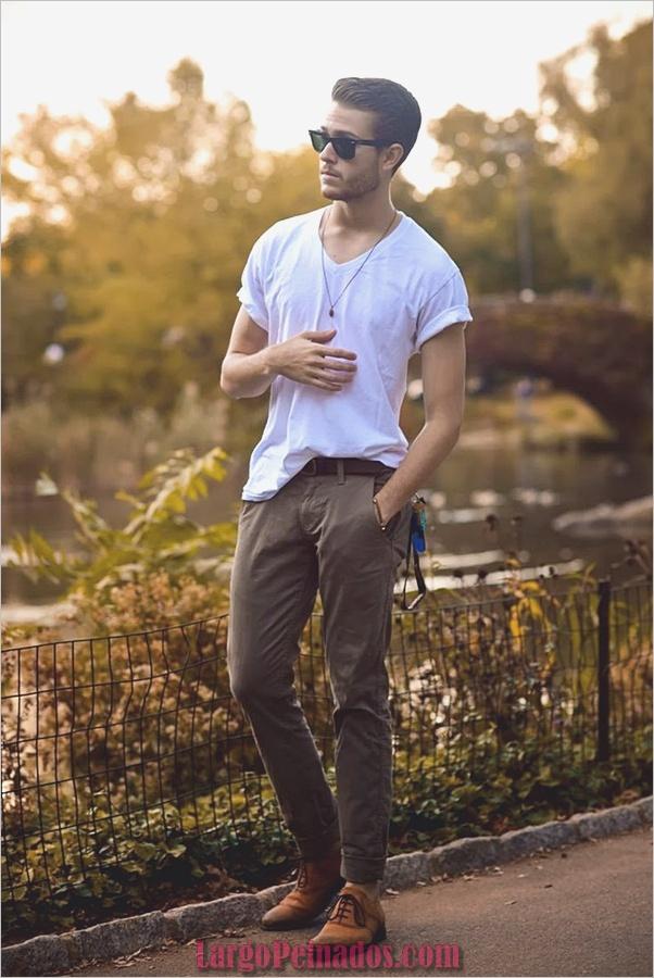 Trajes de estilo de moda para hombre34