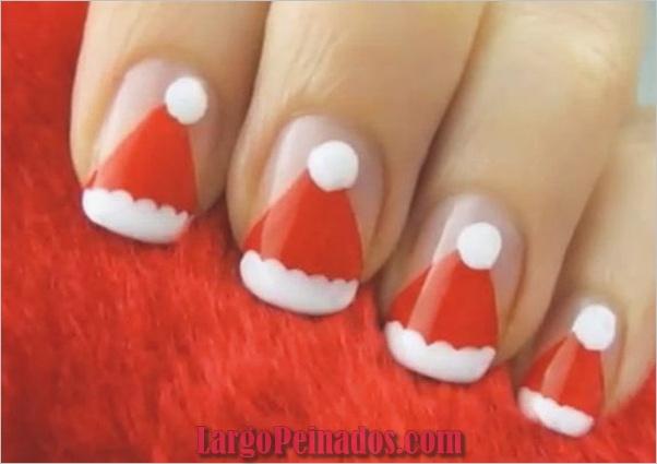 Ideas y diseños de arte de uñas de navidad14