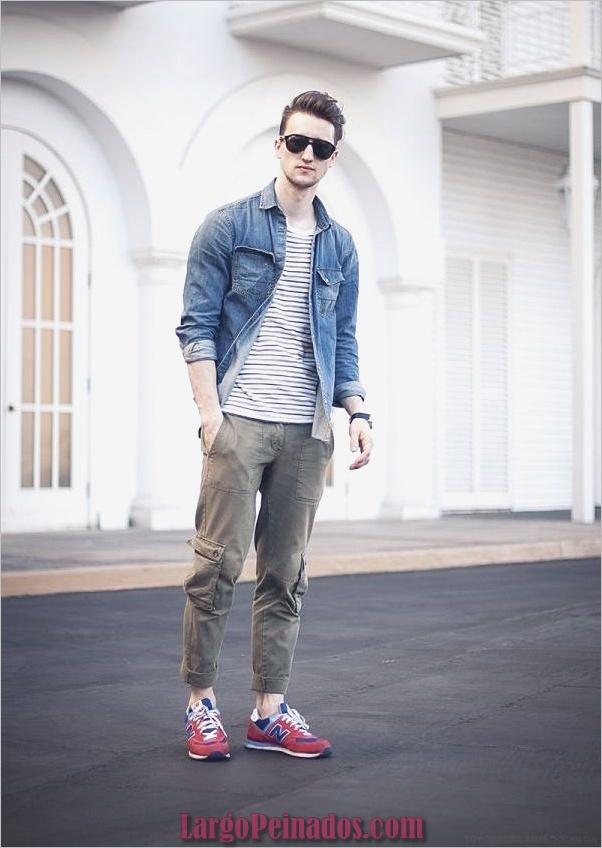 Trajes de estilo de moda para hombres37