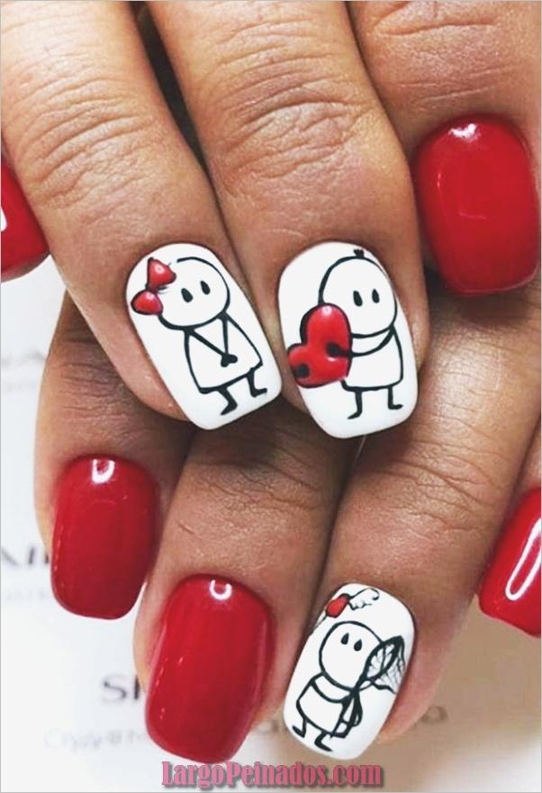 Diseños De Arte De Uñas De San Valentín