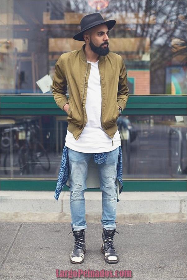 Trajes de estilo de moda para hombre26