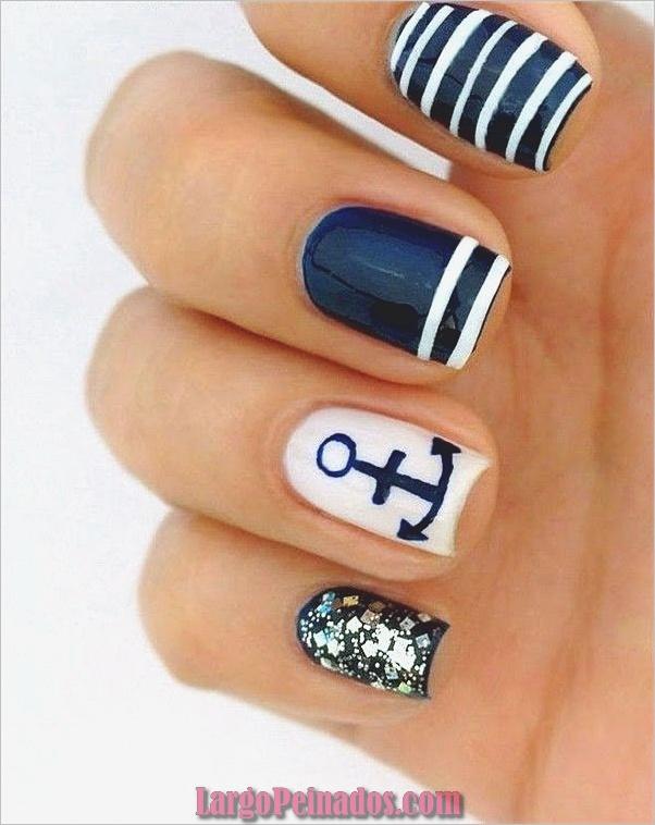 Ideas creativas y bonitas de diseños de uñas (15)