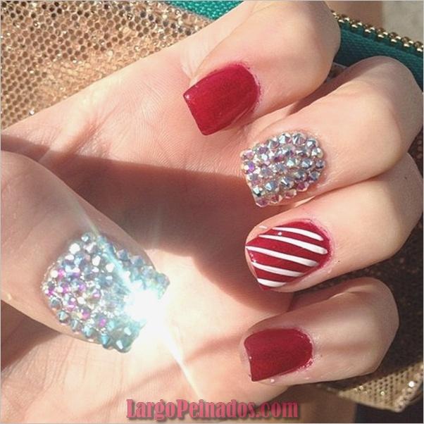 Diseños de arte simples para uñas cortas (9)