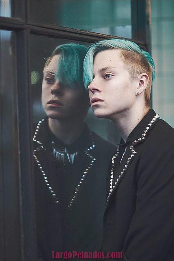 Nuevos peinados punk para hombres en 2019 (8)