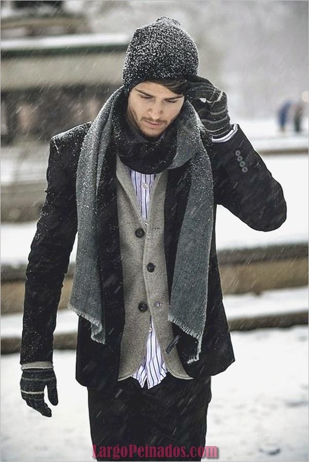 Trajes de moda de invierno para hombres en 2019 (13)