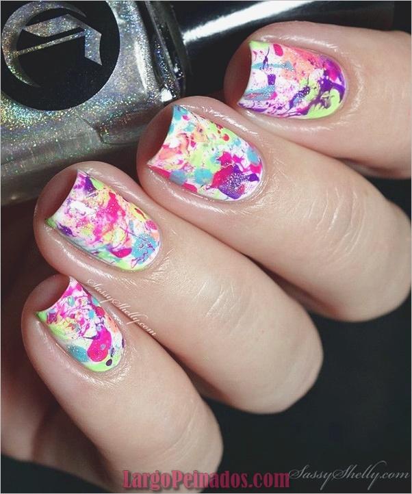 Ideas creativas y bonitas de diseños de uñas (2)