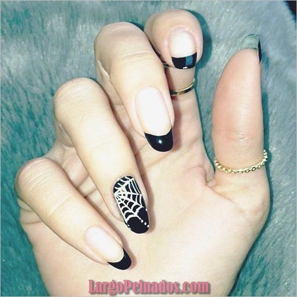 Ideas y diseños de arte de uñas de Halloween (1)