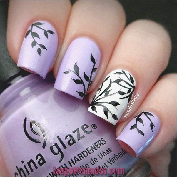 Diseños de uñas de invierno 2019 (6)