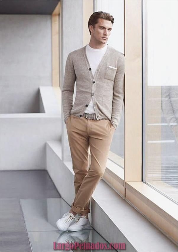 Trajes de estilo de moda para hombre39.1