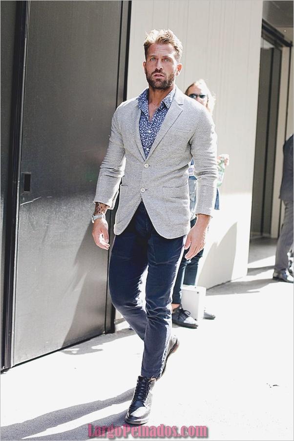 Trajes de estilo de moda para hombre14