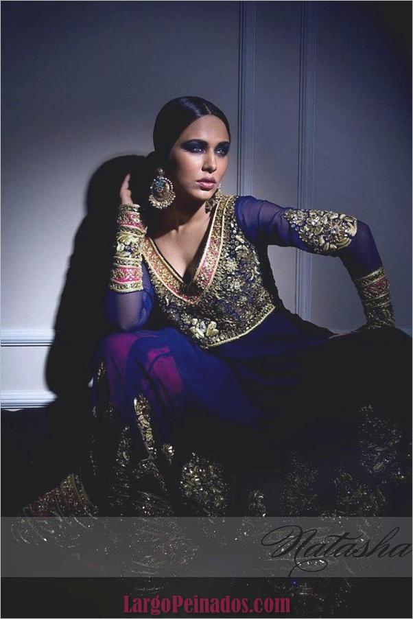 Vestidos y trajes indios elegantes27