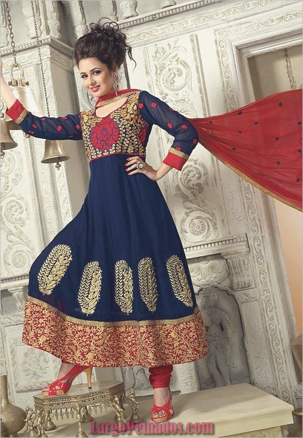 Elegantes vestidos y trajes indios4