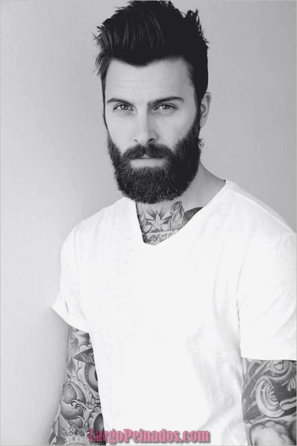 Lindos estilos de barba corta y completa para hombres (21)