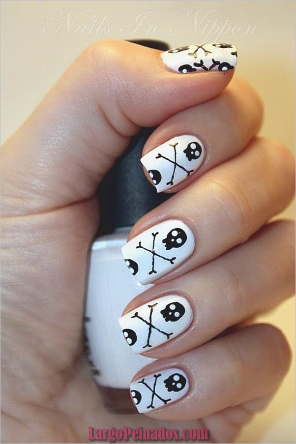 Ideas y diseños de arte de uñas de Halloween (5)