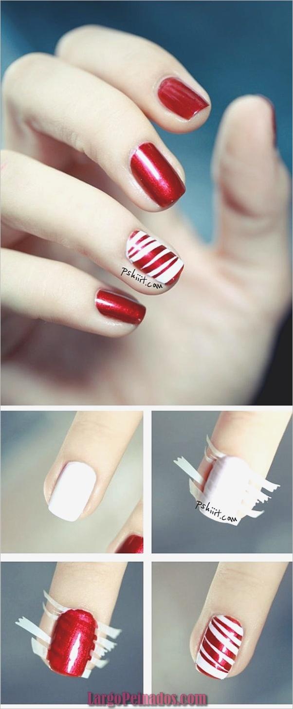 Diseños de arte de uñas blancas (29)