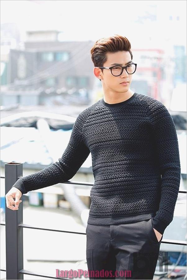 Peinados de hombres coreanos (9)