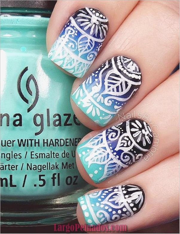 Diferentes diseños e ideas de esmalte de uñas (10)