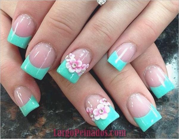 Diseños de arte de uñas fáciles para principiantes16