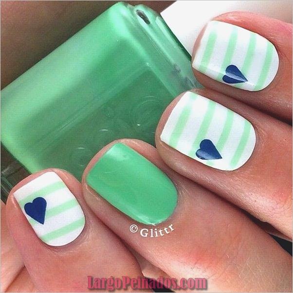 Ideas y diseños de uñas de gel (18)