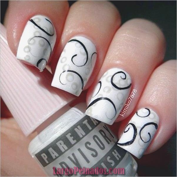 Diferentes diseños e ideas de esmalte de uñas (19)