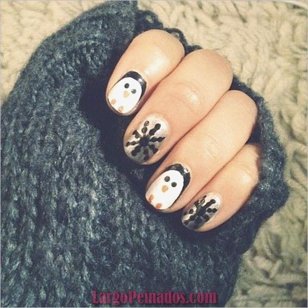 Diseños de arte de uñas de Navidad e Ideas8