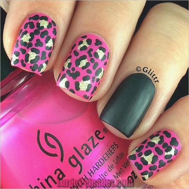 Estampados De Leopardo Del Arte De Uñas (17)