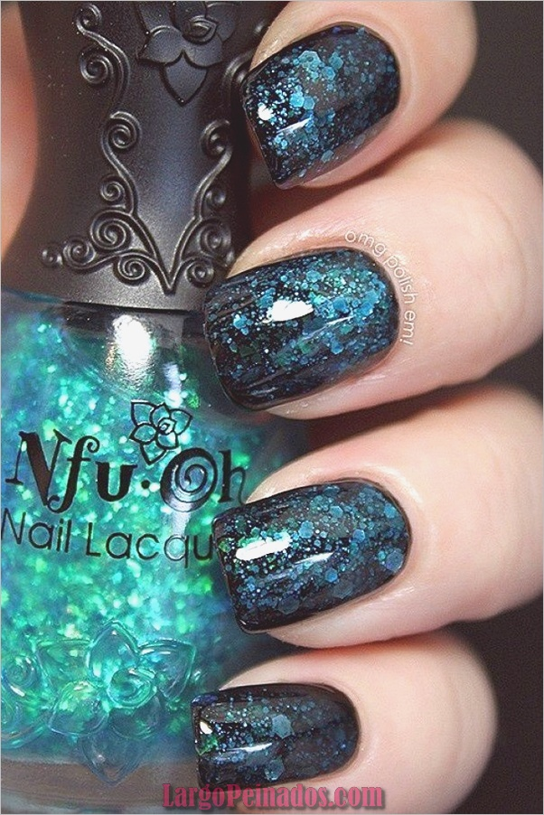 Ideas creativas y bonitas de diseños de uñas (23)