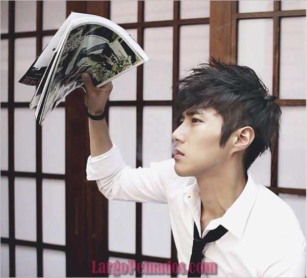 Los hombres coreanos peinados (4)