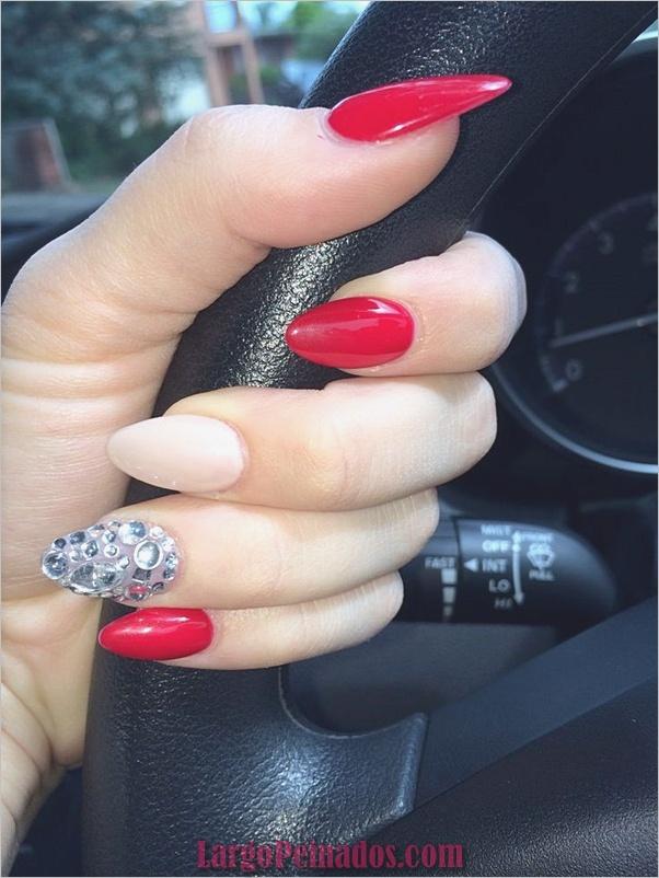 Diseños de arte de uñas rojas6