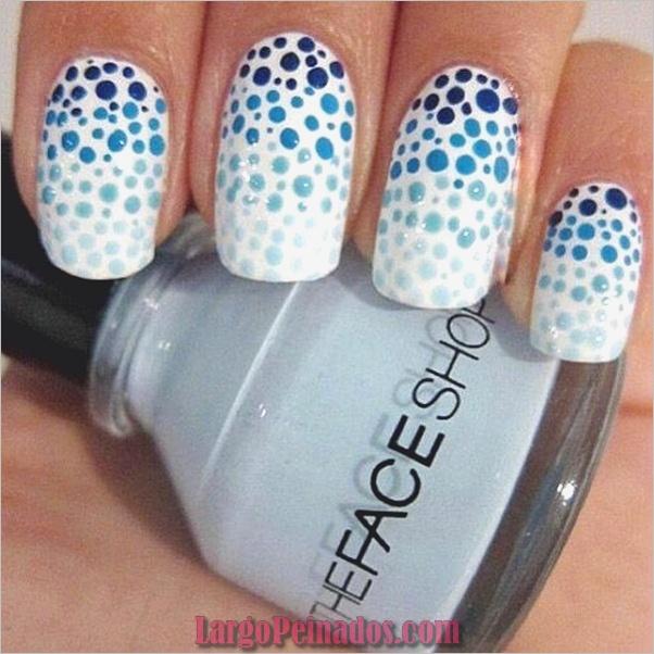 Ideas y diseños fáciles de esmalte de uñas (5)