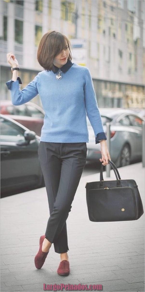 Trajes casuales de trabajo para mujeres en sus 40 años
