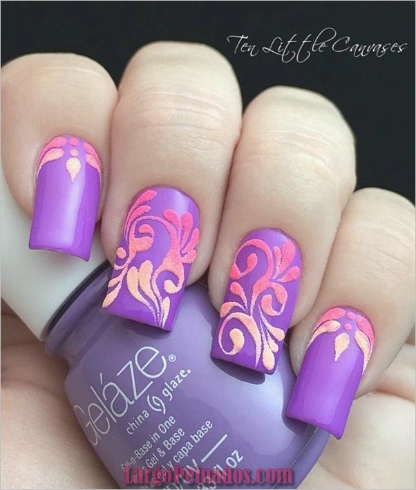 Ideas rápidas de arte de uñas para mujeres de oficina (21)