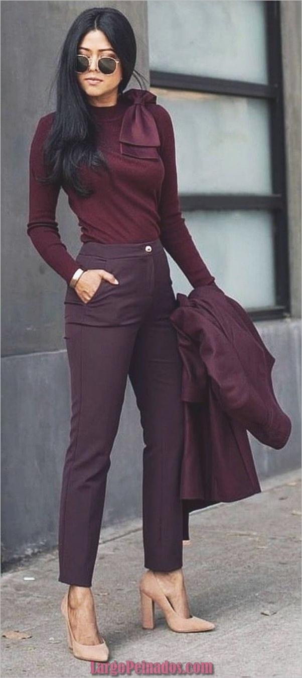 Lindos trajes de trabajo casual para usar todo el día