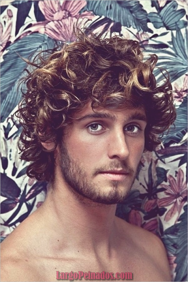 Últimos peinados largos para hombres (21)