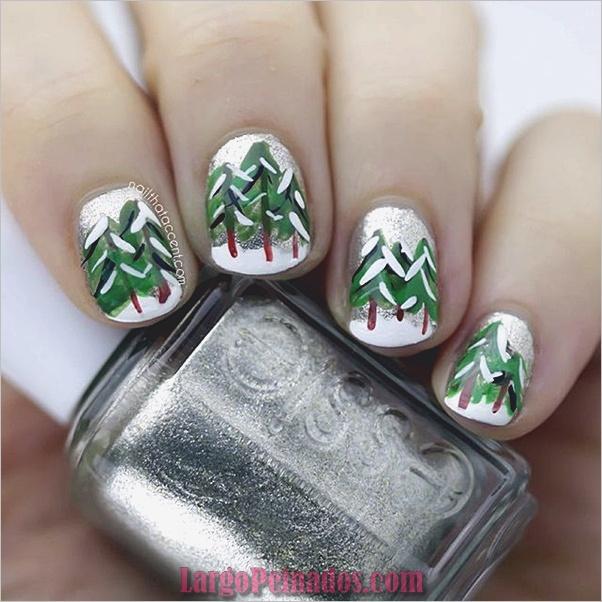 Diseños de uñas de invierno 2019 (2)