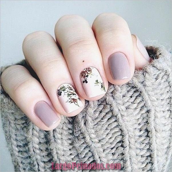 Diseños de arte de uñas de mármol (4)