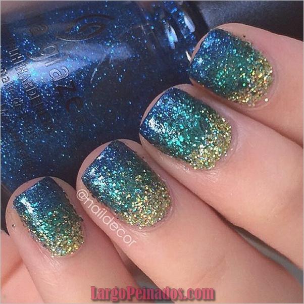 Ideas rápidas de arte de uñas para mujeres de oficina (18)