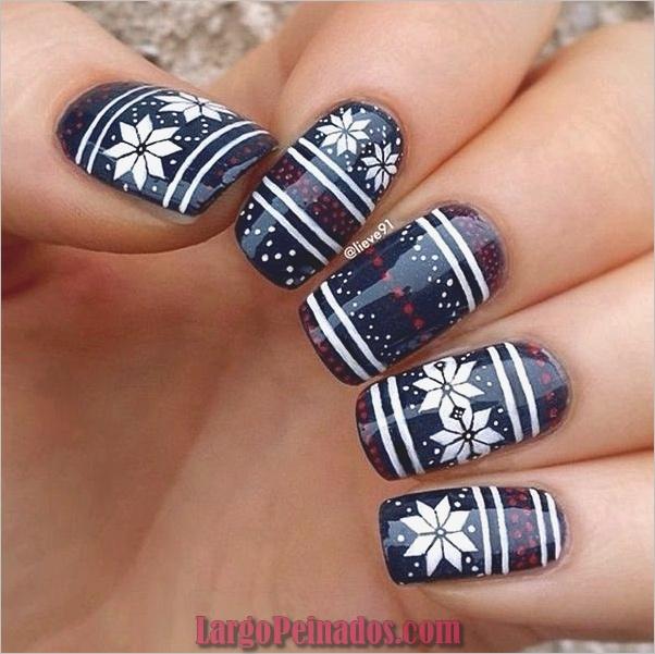 Ideas creativas y bonitas de diseños de uñas (16)