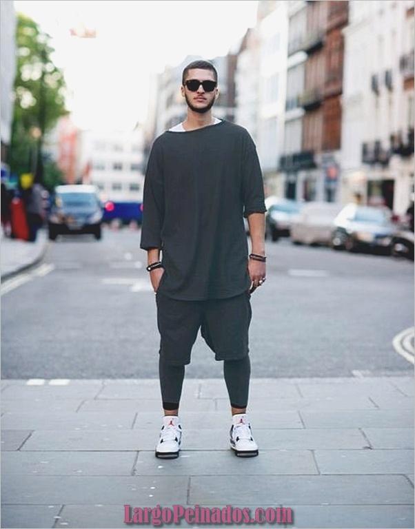 Trajes de estilo de moda para hombres43