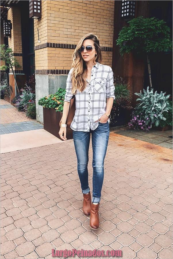Camisas de moda con su botón arriba-camisas-1
