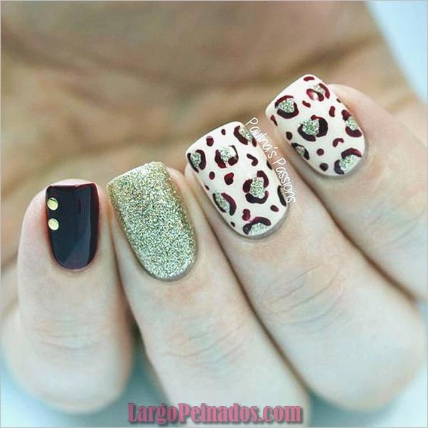 Estampados De Leopardo Del Arte De Uñas (6)