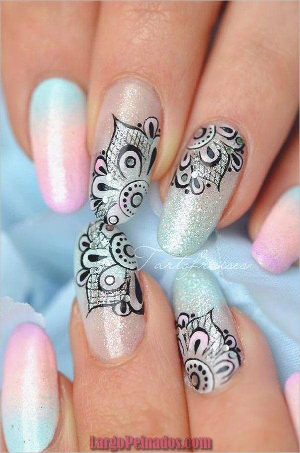 Diseños de arte de uñas de vacaciones (1)