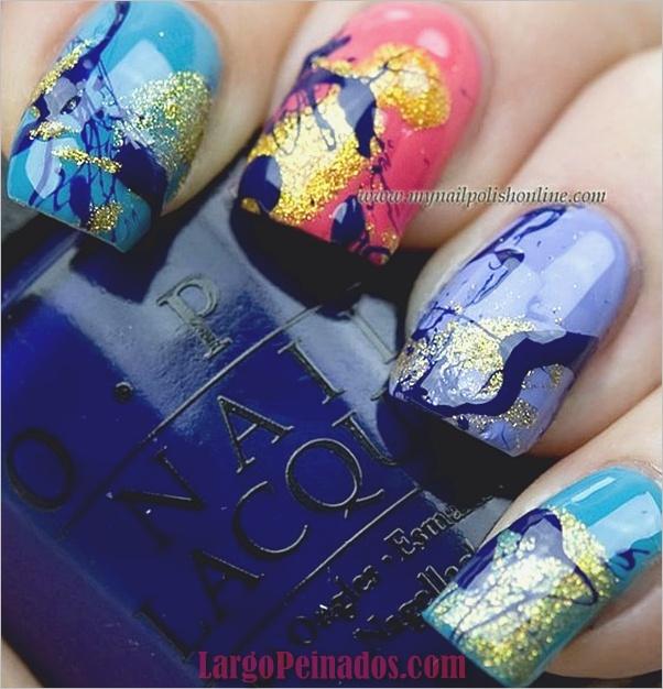 Diseños y Colores de Arte de Uñas de Verano (2)