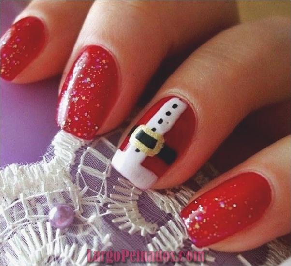Nail Art Designs y Ideas de Navidad3